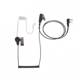 HXEMP Microfono Auricular tipo seguridad con tubo acustico